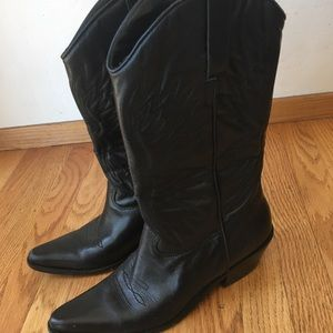 Matisse Leather Cowboy Boots